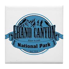 grand canyon 1 Tile Coaster