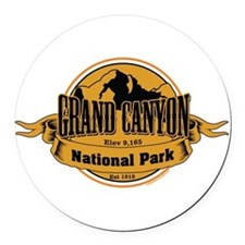 grand canyon 3 Round Car Magnet