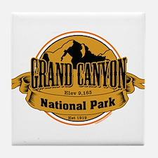 grand canyon 3 Tile Coaster