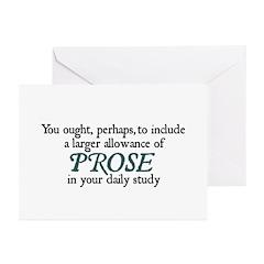 Prose Greeting Cards (Pk of 10)