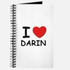 I love Darin Journal