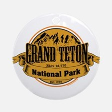grand teton 2 Ornament (Round)
