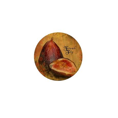 Botanical Fresh Fig Mini Button
