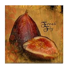 Botanical Fresh Fig Tile Coaster