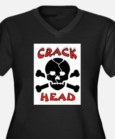 CRACK HEAD Plus Size T-Shirt