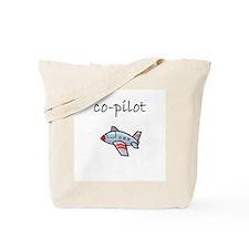 co-pilot.bmp Tote Bag