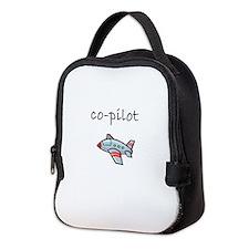 co-pilot.bmp Neoprene Lunch Bag