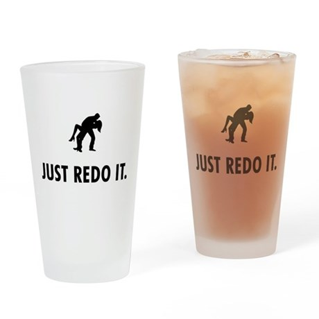 Happy Couple Drinking Glass