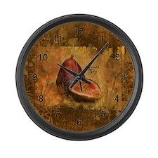 Botanical Fresh Fig Large Wall Clock