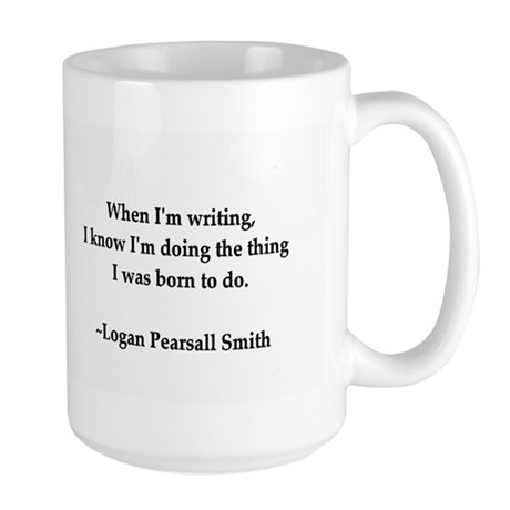 Author Quote Large Mug