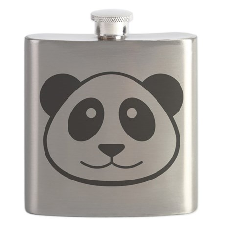 Panda Face Flask