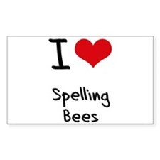 I love Spelling Bees Decal