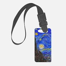 van Gogh: The Starry Night Luggage Tag