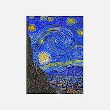 van Gogh: The Starry Night 5'x7'Area Rug