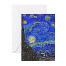 van Gogh: The Starry Night Greeting Cards (Pk of 1