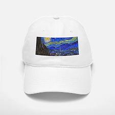 van Gogh: The Starry Night Baseball Baseball Baseball Cap