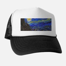van Gogh: The Starry Night Trucker Hat