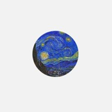 van Gogh: The Starry Night Mini Button