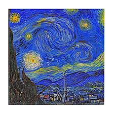 van Gogh: The Starry Night Tile Coaster