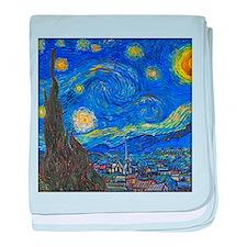 van Gogh: The Starry Night baby blanket