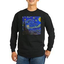 van Gogh: The Starry Night Long Sleeve T-Shirt