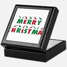 Cute Merry christmas Keepsake Box
