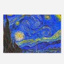 van Gogh: The Starry Night Postcards (Package of 8