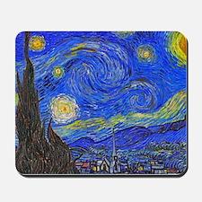 van Gogh: The Starry Night Mousepad
