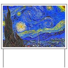van Gogh: The Starry Night Yard Sign
