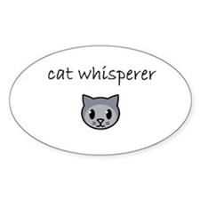 cat whisperer.PNG Decal