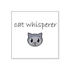 cat whisperer.PNG Sticker