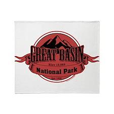 great basin 4 Throw Blanket