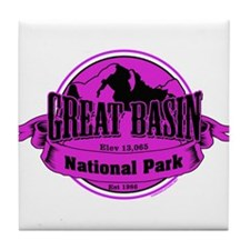 great basin 3 Tile Coaster