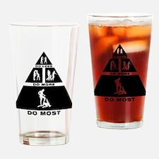 Bondage Drinking Glass
