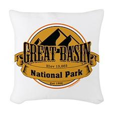 great basin 5 Woven Throw Pillow