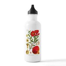 Vintage Pomegranate Water Bottle