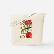 Vintage Pomegranate Tote Bag