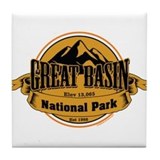 great basin 4 Tile Coaster