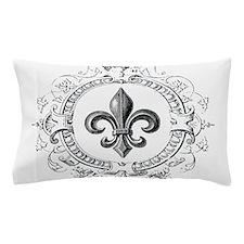 Vintage French Fleur de lis Pillow Case