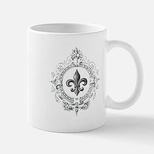 Vintage French Fleur de lis Small Small Mug