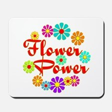 Flower Power Fun Mousepad