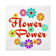 Flower Power Fun Queen Duvet