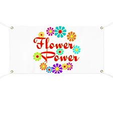 Flower Power Fun Banner