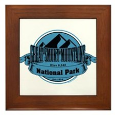 great smokey mountains 5 Framed Tile