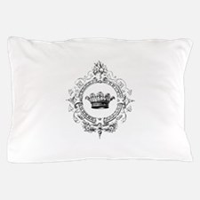 Vintage French crown Pillow Case