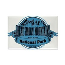 great smokey mountains 2 Rectangle Magnet