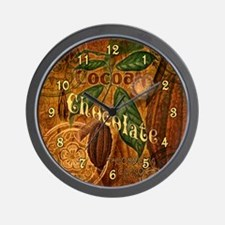 Chocolate Collage Wall Clock