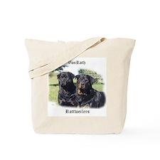 Custom Rottweiler Tote Bag