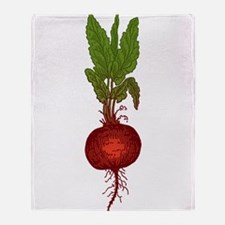 Beets Throw Blanket