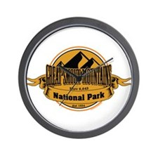 great smokey mountains 5 Wall Clock